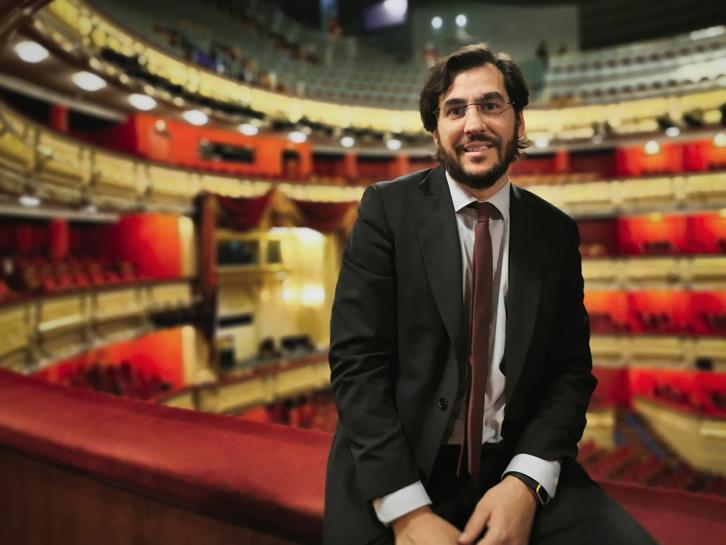 Borja Ezcurra Amigos Teatro Real