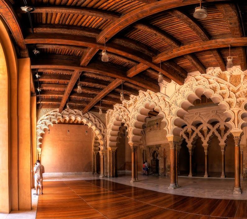 Sala del Palacio de la Aljafería